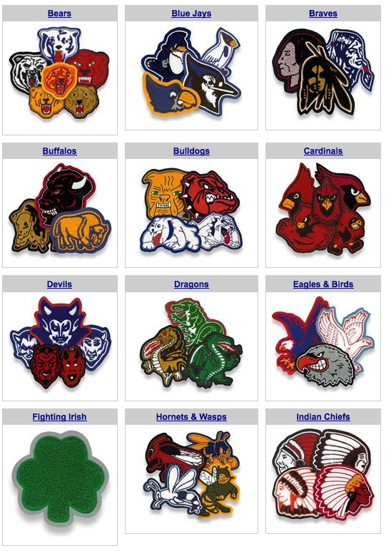 Mascot Selection Sample Chenille Appeal