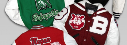 Chenille Appeal Wholesale Varsity Letterman Jackets and Wholesale Custom Chenille Awards